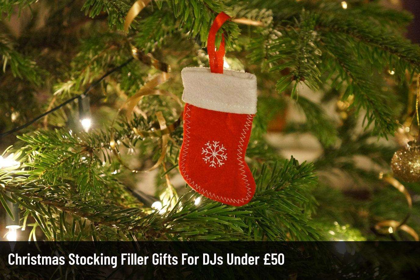 Christmas Stocking Filler Gifts for DJ's Under £50