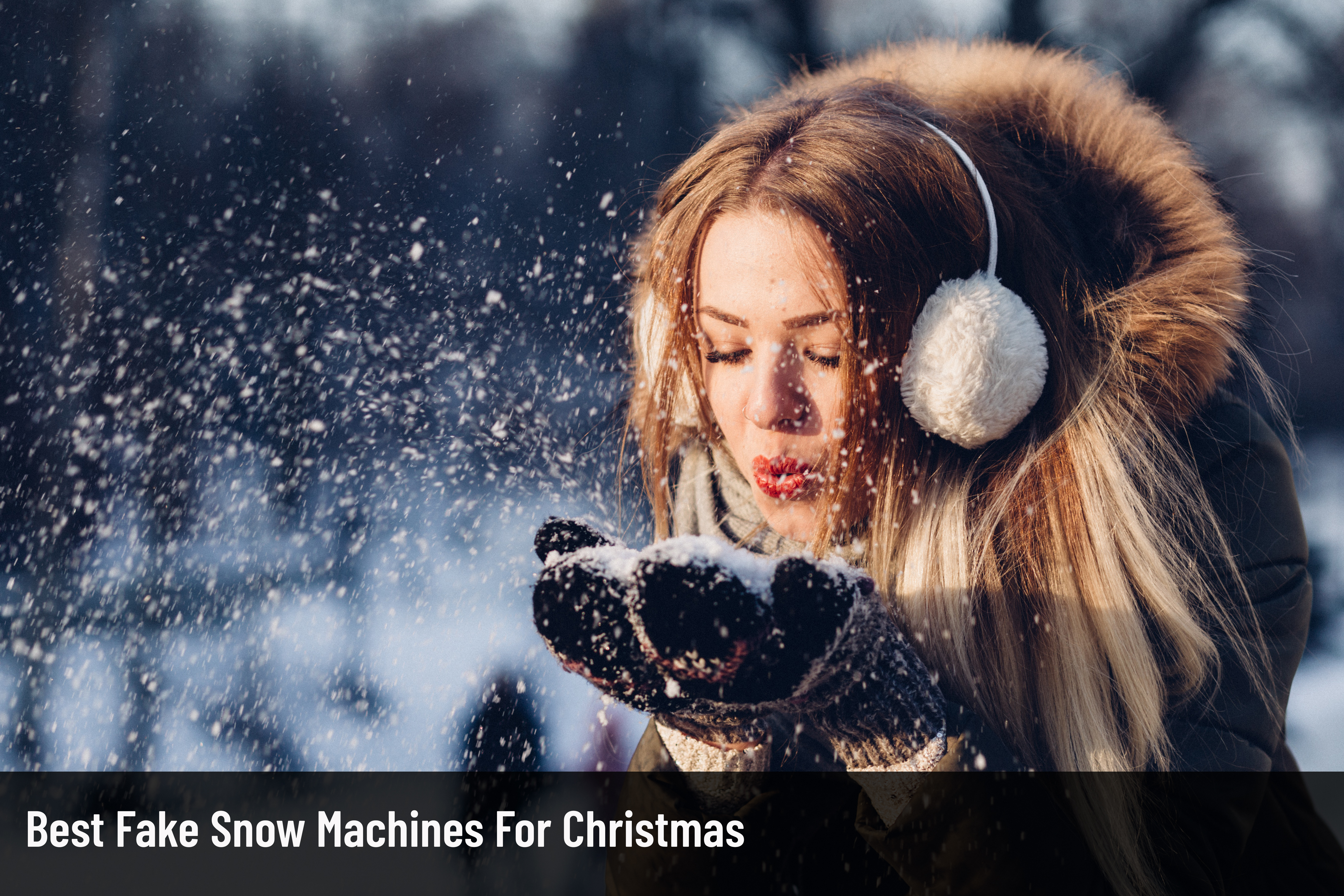 Best Fake Snow Machines For Christmas 2020